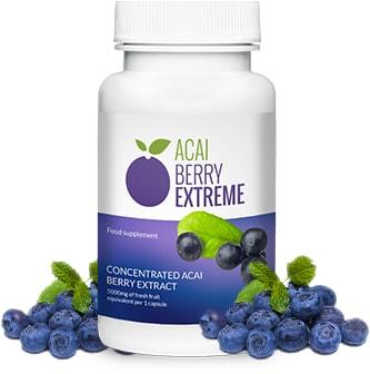Acai Berry Extreme - tanie tabletki na odchudzanie