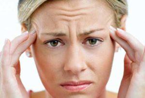ból głowy w skroniach